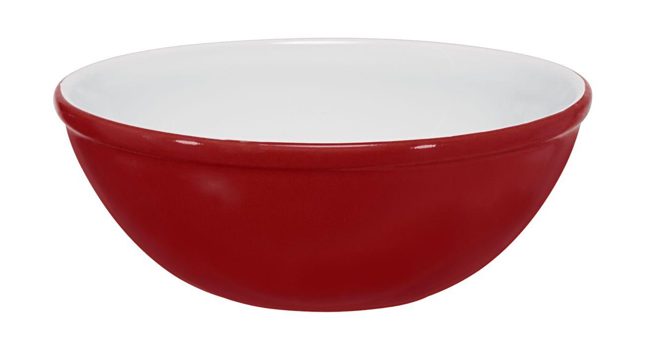 Bowl 15Cm 400Ml  -  Vermelho Mondoceram