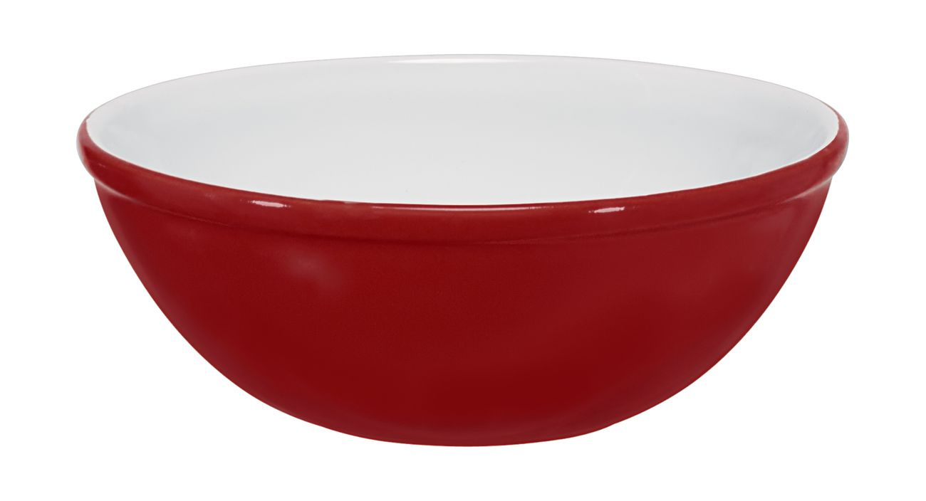 Bowl De Cerâmica Ceraflame 15Cm 400Ml  -  Vermelho