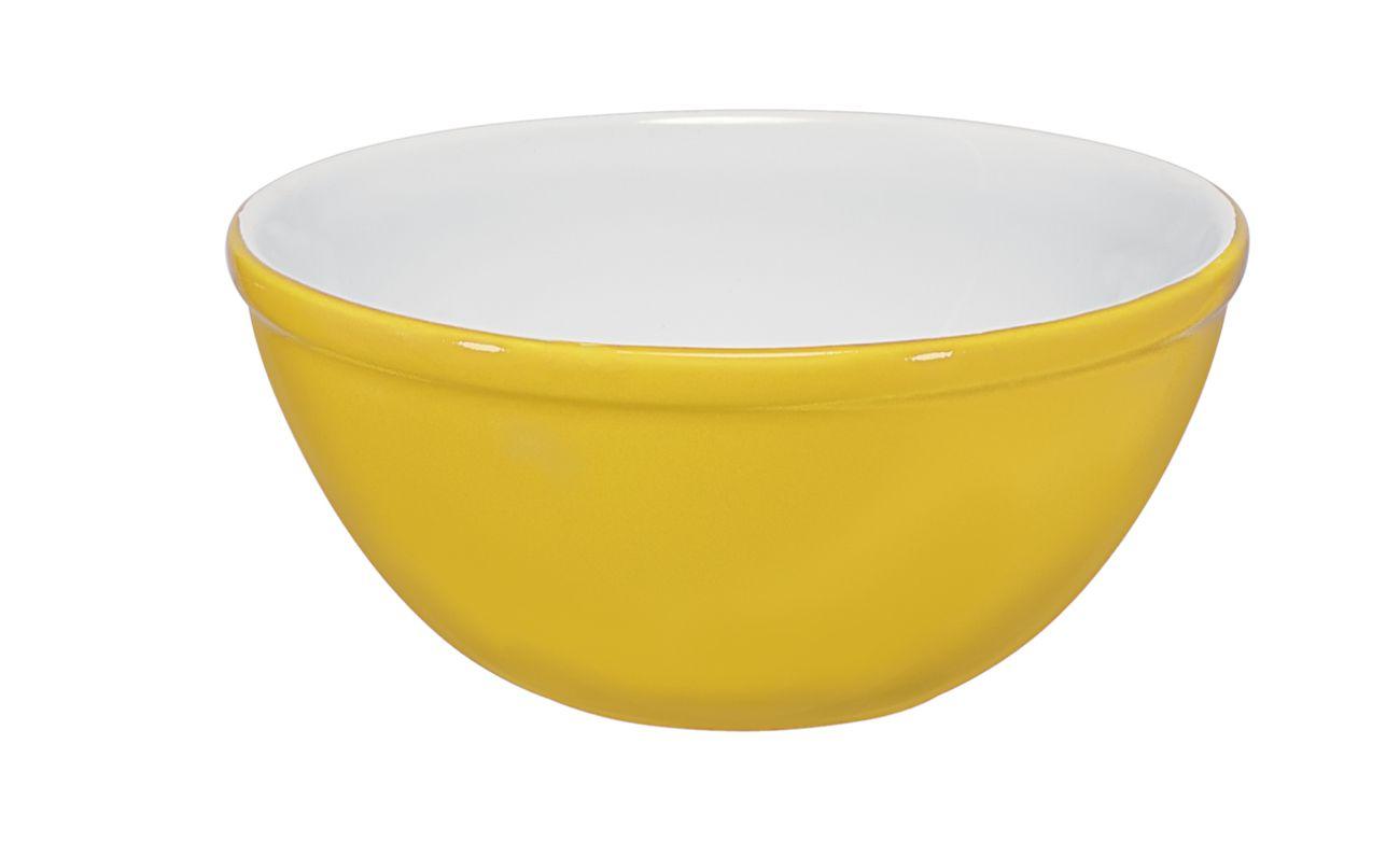 Bowl De Cerâmica Ceraflame 8Cm 100Ml  -  Amarelo