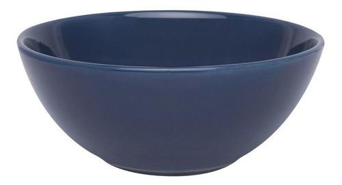 Bowl De Cerâmica 16Cm 600Ml - Azul - Oxford Daily
