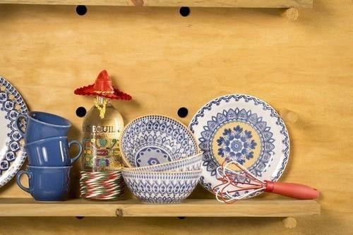 Bowl De Cerâmica 16Cm 600Ml - Floreal La Carreta - Oxford Daily