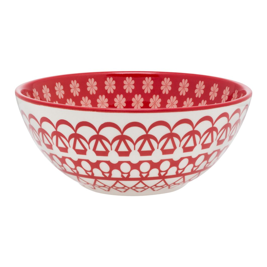 Bowl De Cerâmica 16Cm 600Ml - Floreal Renda - Oxford Daily