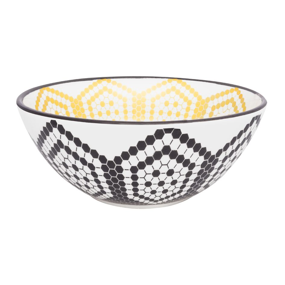 Bowl De Cerâmica 16Cm 600Ml -  Full Bee- Oxford Daily