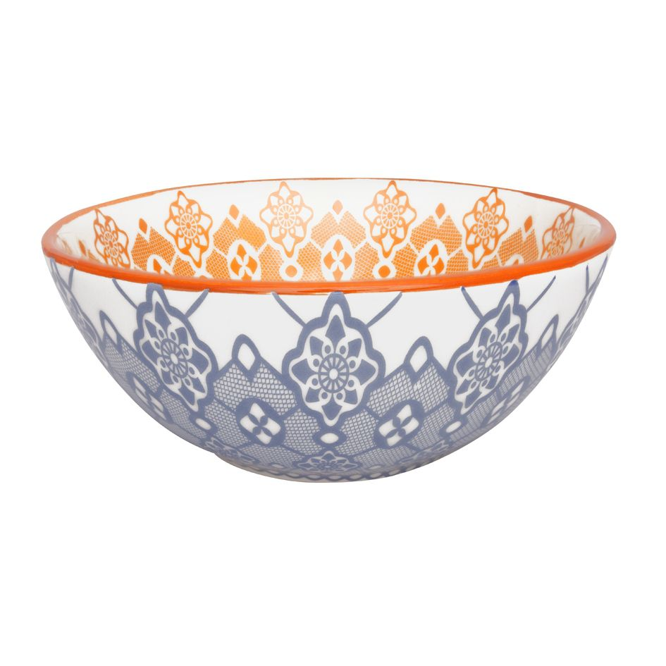 Bowl De Cerâmica 16Cm 600Ml -  Full Ladrilho- Oxford Daily