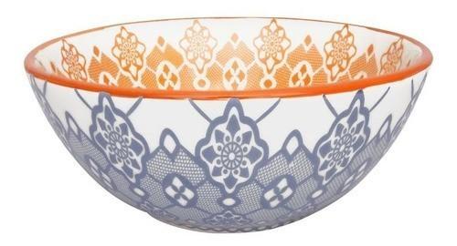 Bowl De Cerâmica 16Cm 600Ml -  Full Ladrilho- Oxford Daily