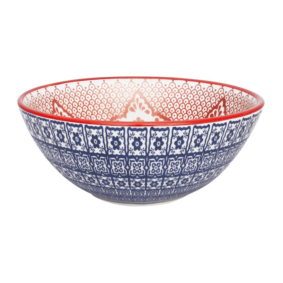 Bowl De Cerâmica 16Cm 600Ml -  Full Mexican - Oxford Daily