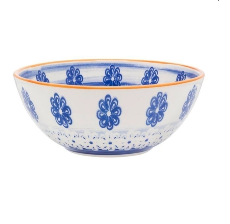 Bowl De Cerâmica 16Cm 600Ml -  Paint - Oxford Daily