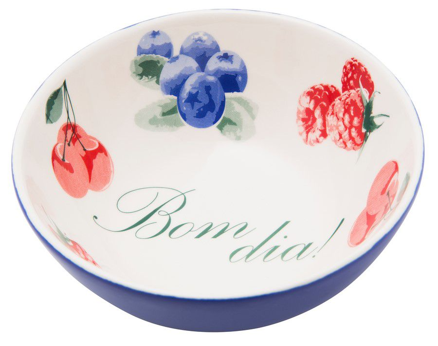Bowl De Cerâmica 16Cm 600Ml - Temática  Bom Dia - Oxford Daily