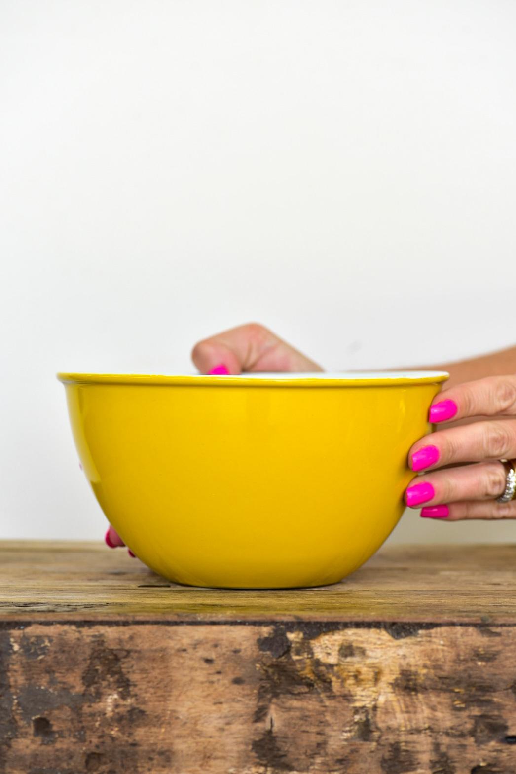 Bowl De Cerâmica Ceraflame 1500Ml - Amarelo
