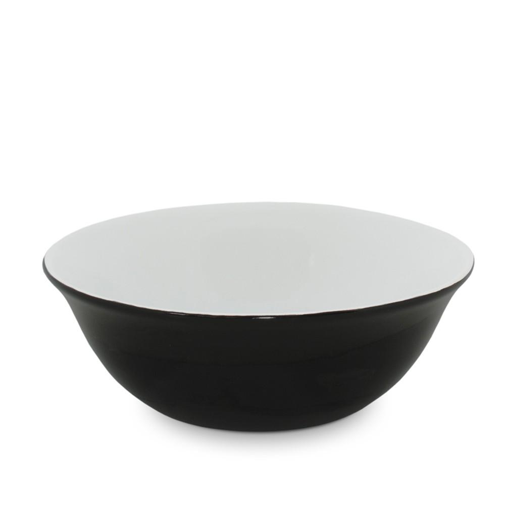 Bowl De Cerâmica Ceraflame 900Ml - Preto