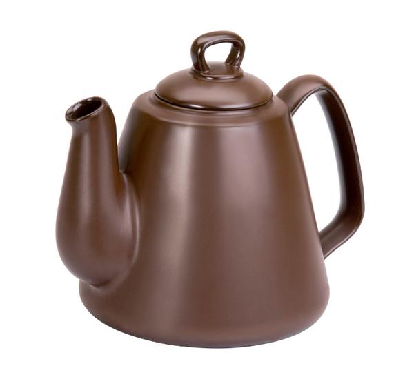 Bule De Cerâmica Ceraflame Tropeiro 1300Ml Chocolate