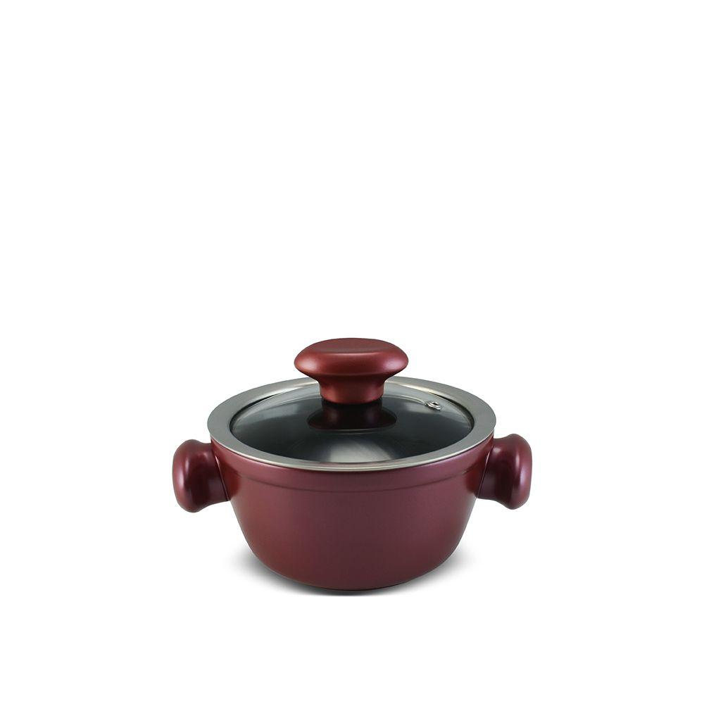 Caçarola De Cerâmica Ceraflame Chef 14Cm 700Ml - Rose Gold