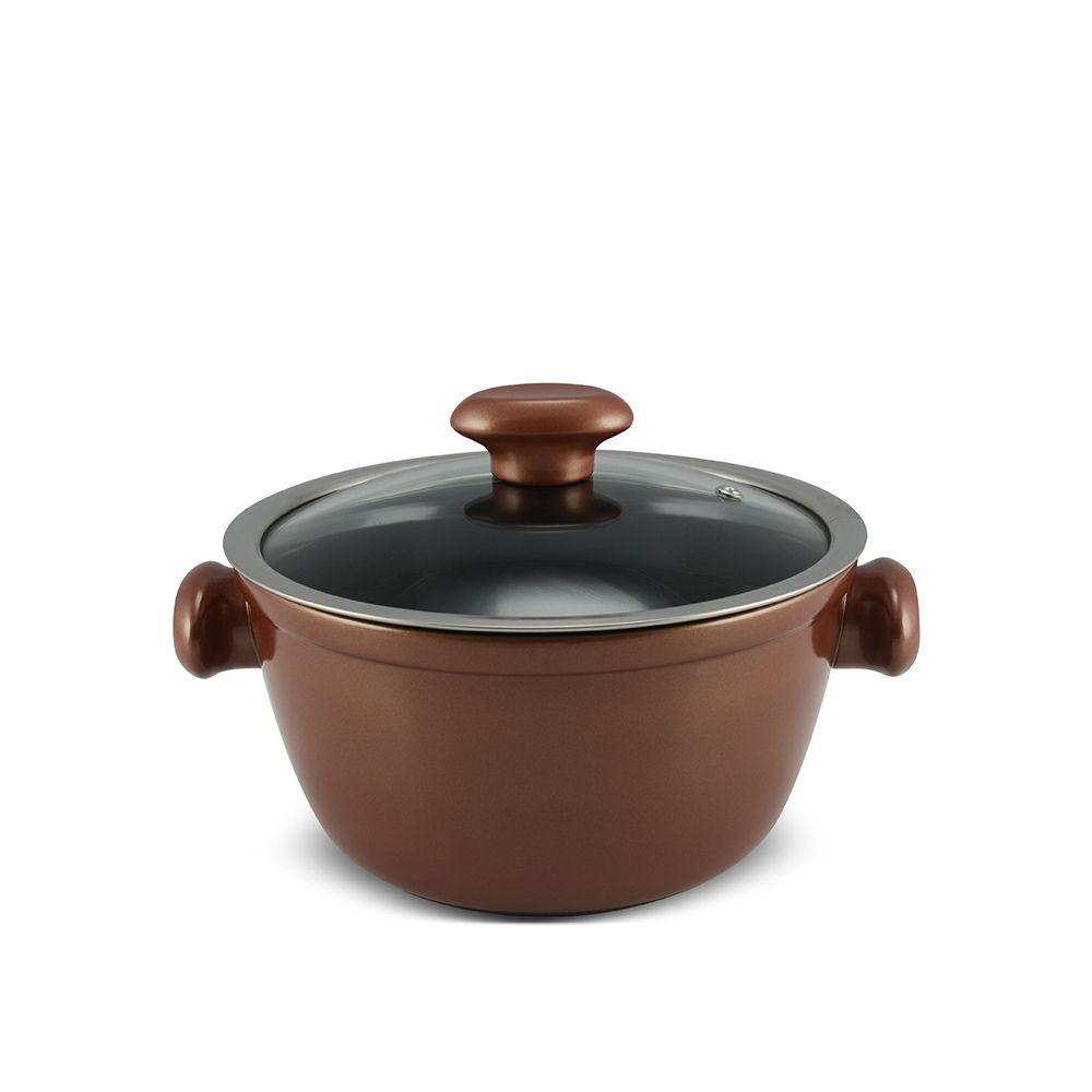 Caçarola De Cerâmica Ceraflame Chef 20Cm 2200Ml - Cobre