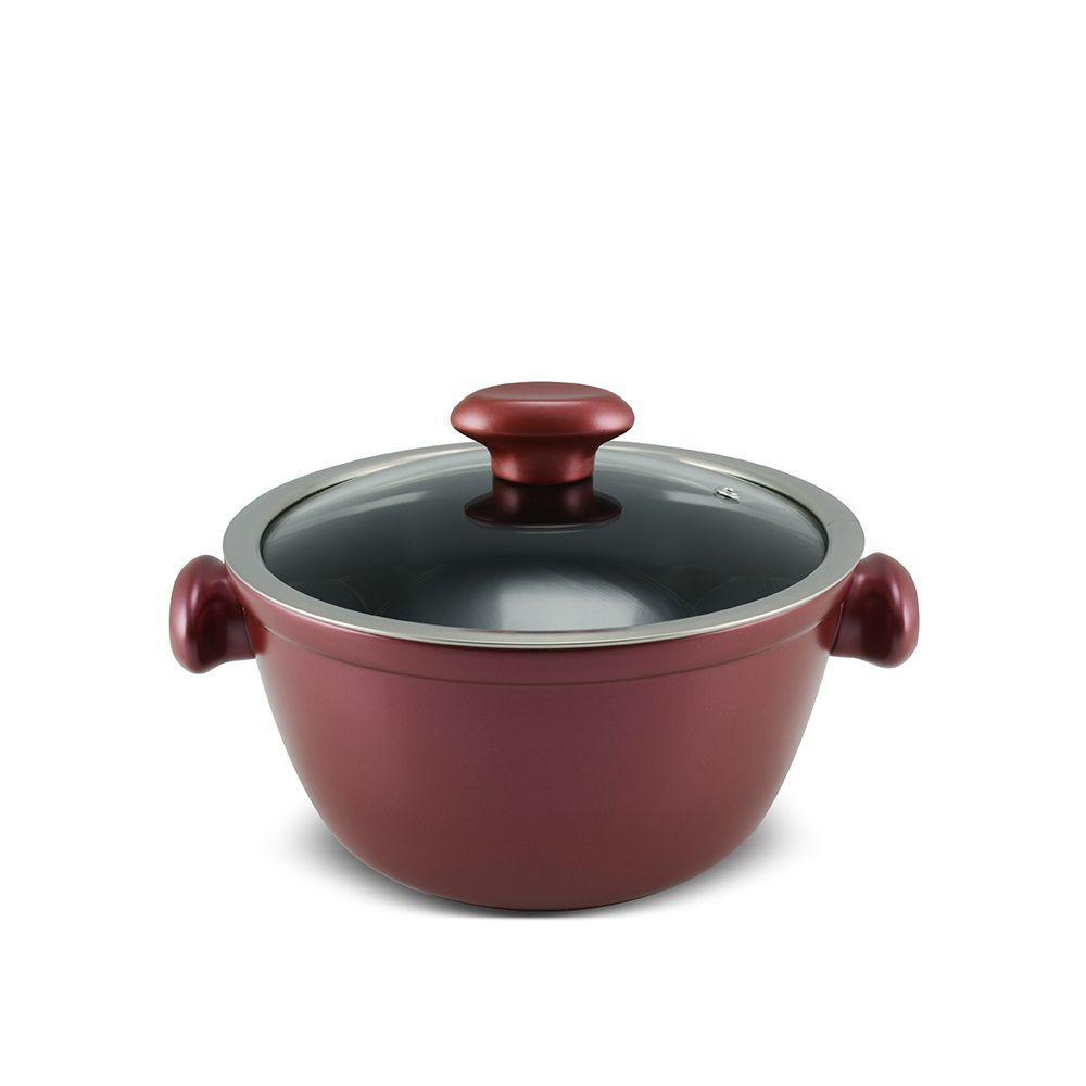 Caçarola De Cerâmica Ceraflame Chef 20Cm 2200Ml - Rose Gold