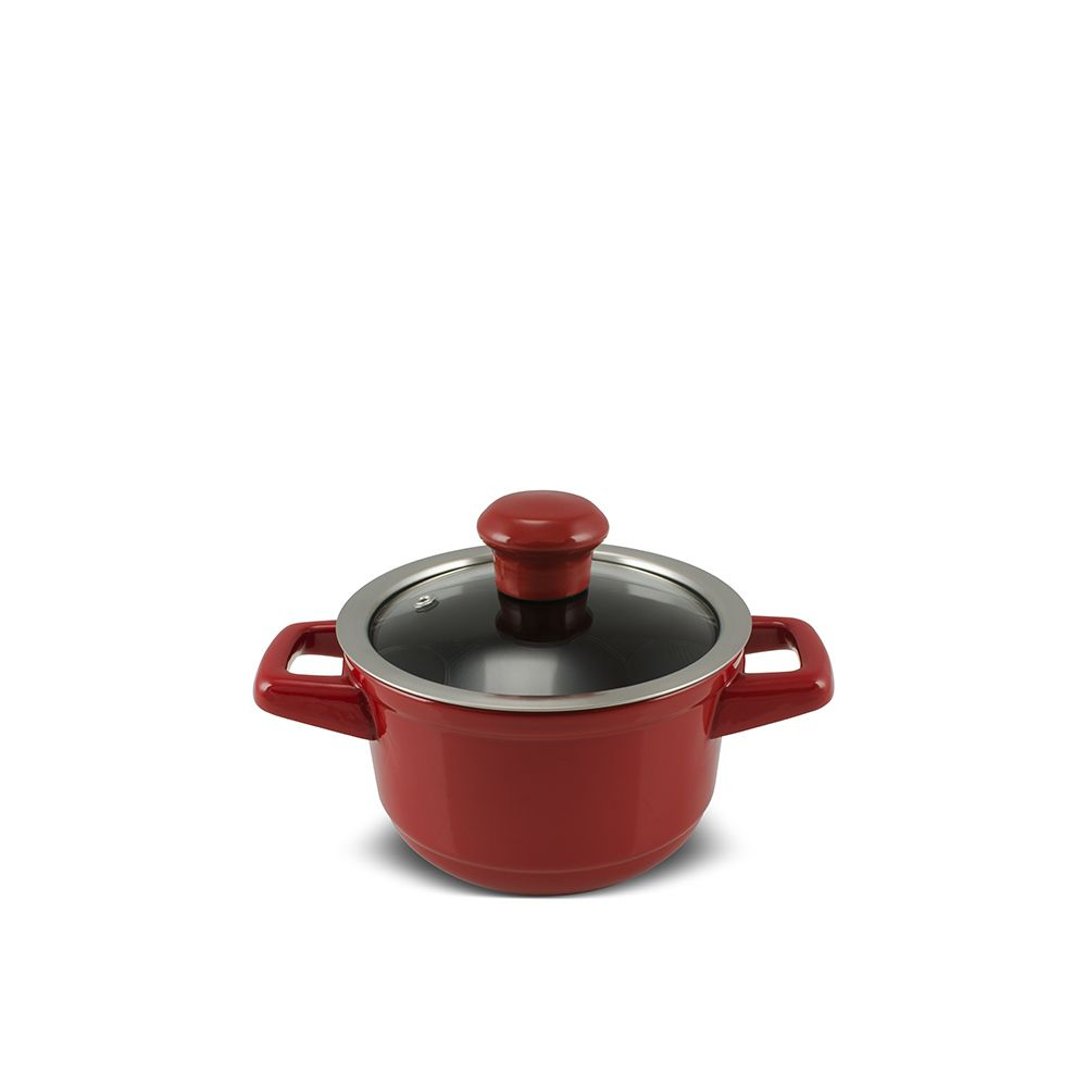 Caçarola De Cerâmica Ceraflame Duo 14Cm 900Ml - Pomodoro
