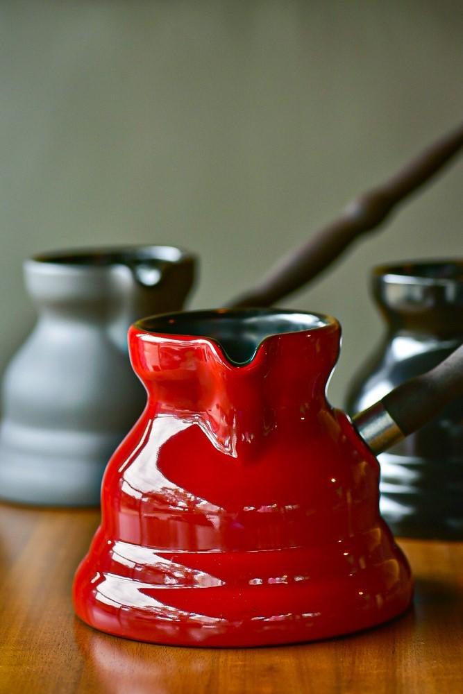 Café Turco De Cerâmica Ceraflame (Ibrik/Cezve) Vintage 650Ml Pomodoro