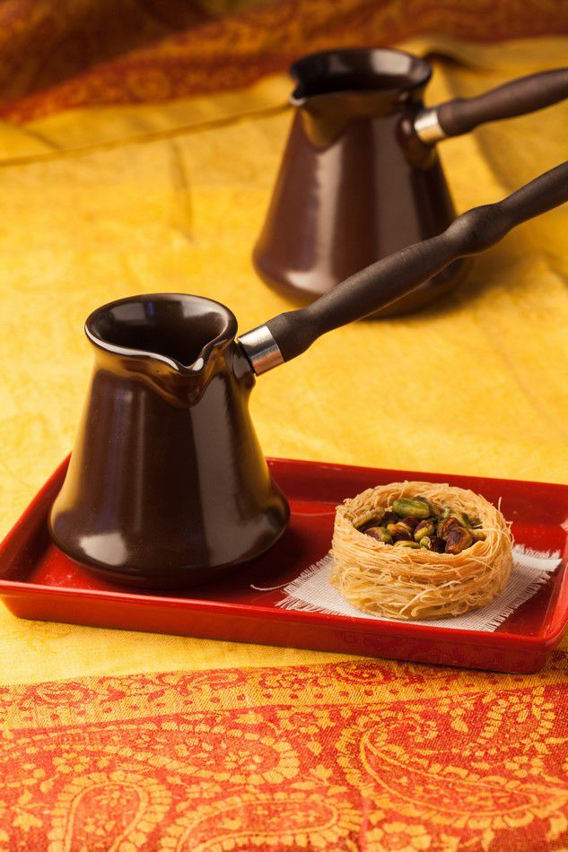 Café Turco De Cerâmica Ceraflame (Ibrik) Tropeiro 150Ml Chocolate