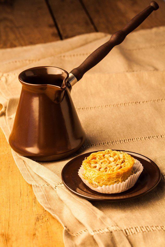 Café Turco De Cerâmica Ceraflame (Ibrik) Tropeiro 240Ml Chocolate
