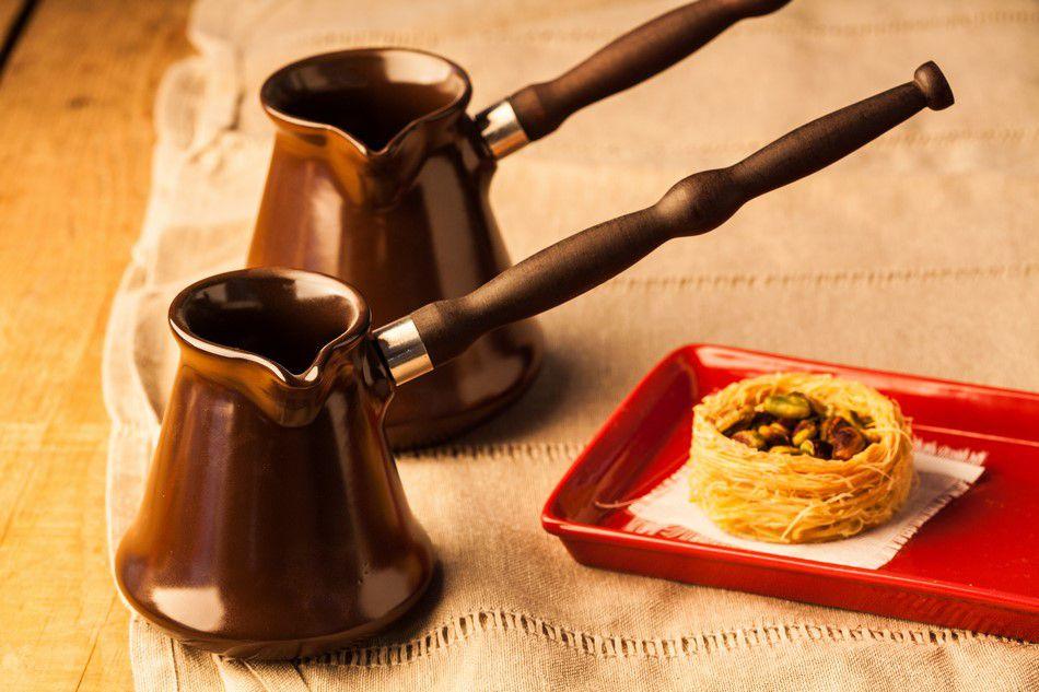 Café Turco De Cerâmica Ceraflame (Ibrik) Tropeiro 350Ml Chocolate