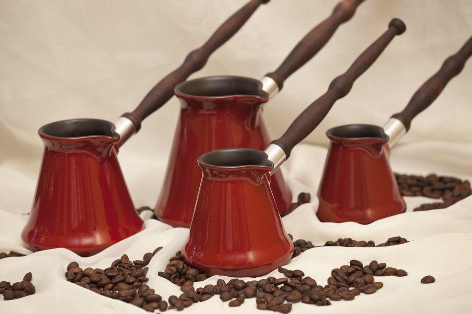 Café Turco De Cerâmica Ceraflame (Ibrik) Tropeiro 500Ml Pomodoro