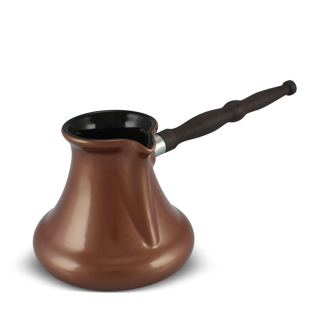 Café Turco De Cerâmica Ceraflame Para Indução (Ibrik/Cezve) Gourmet 550Ml Cobre