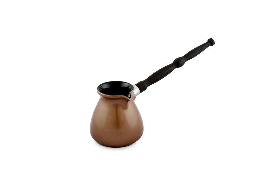 Café Turco (Ibrik) De Cerâmica Ceraflame Colonial 350Ml Cobre