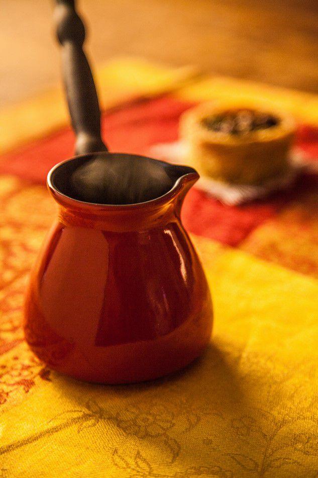Café Turco (Ibrik) De Cerâmica Ceraflame Colonial 350Ml Pomodoro