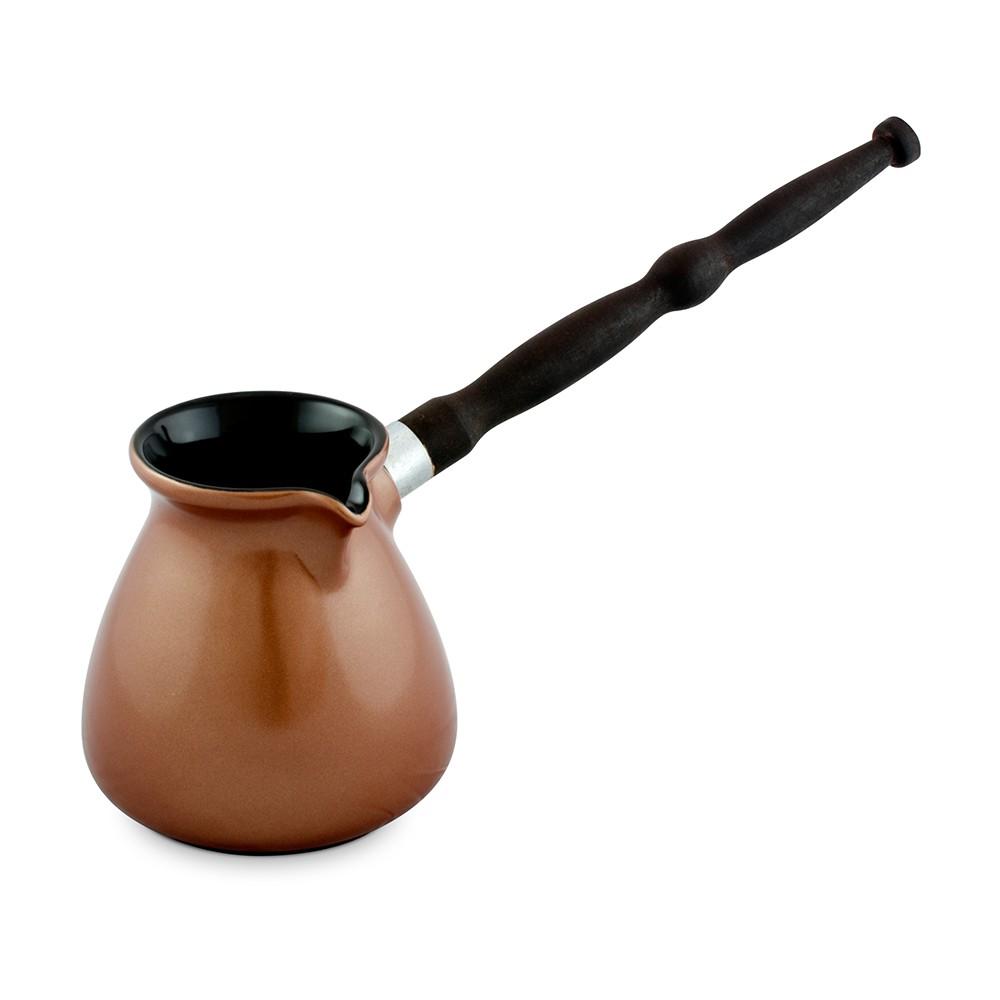 Café Turco (Ibrik) De Cerâmica Ceraflame Colonial 500Ml Cobre