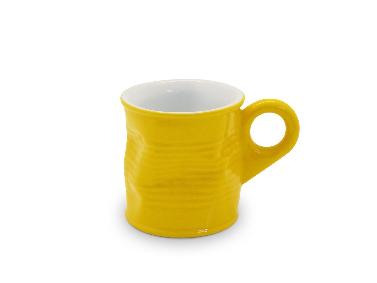 Cafézinho Lata Amassada 70Ml - Amarelo