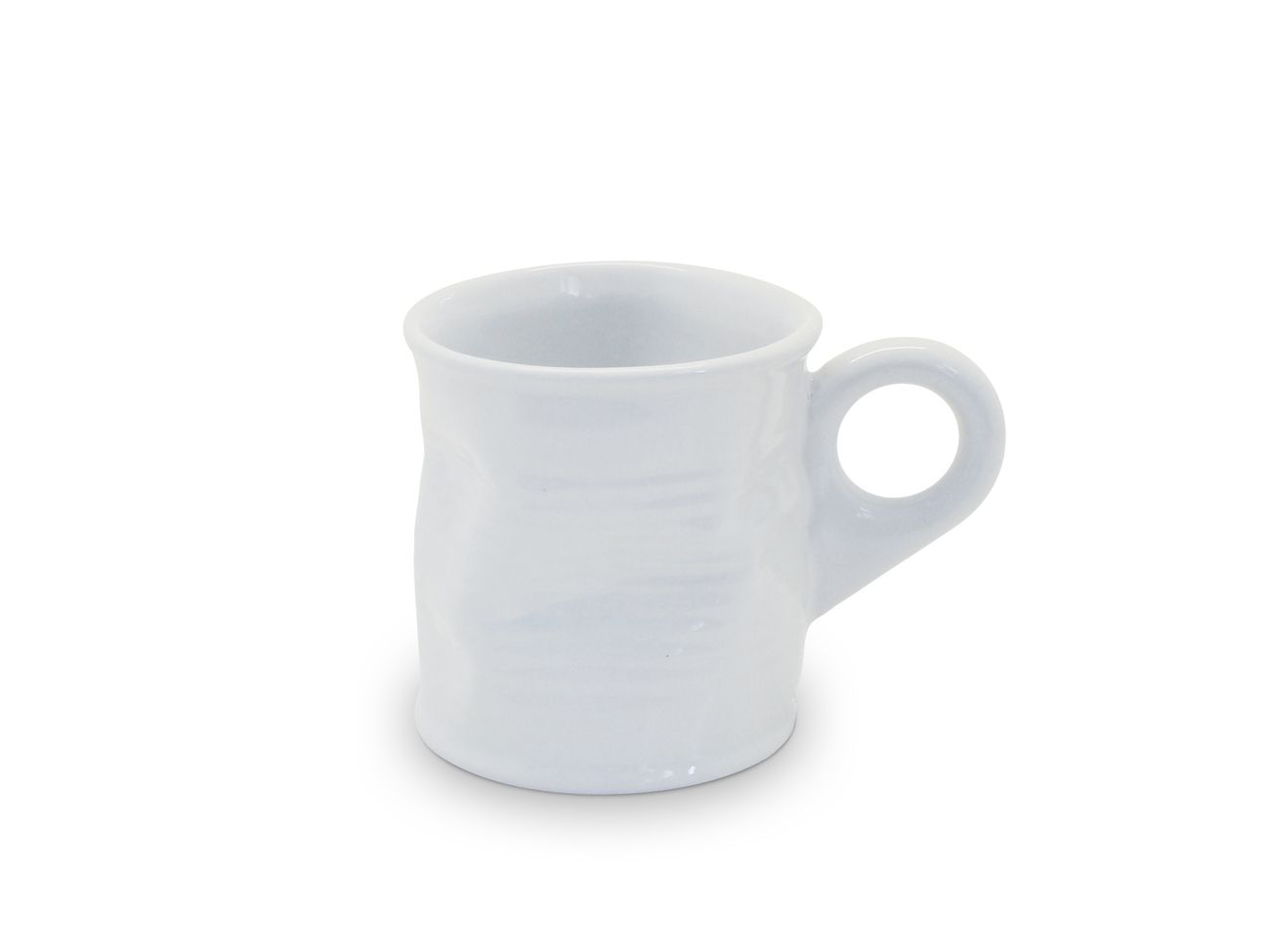 Cafézinho Lata Amassada 70Ml - Branco