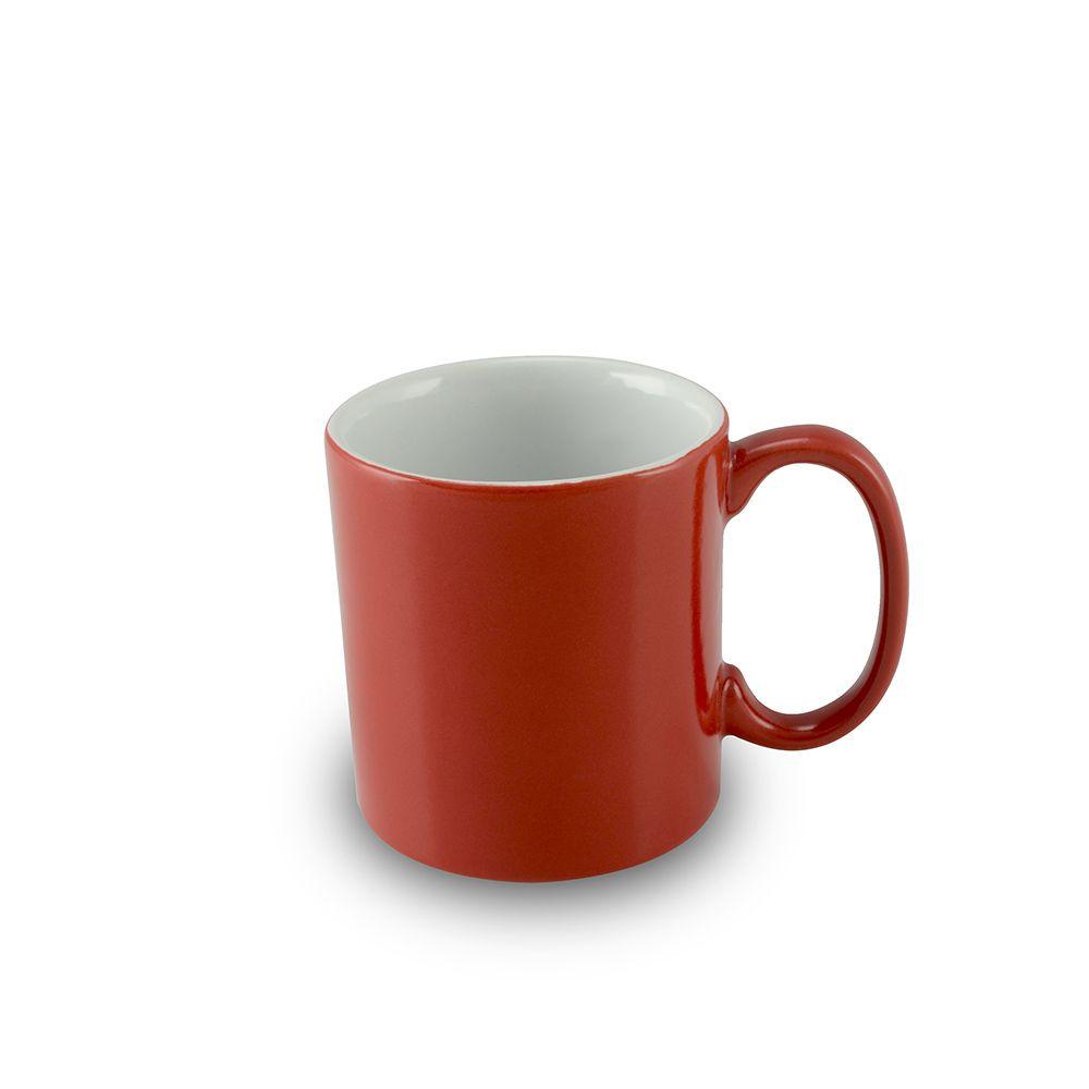 Caneca De Cerâmica 150Ml Gourmet - Vermelha Mondoceram