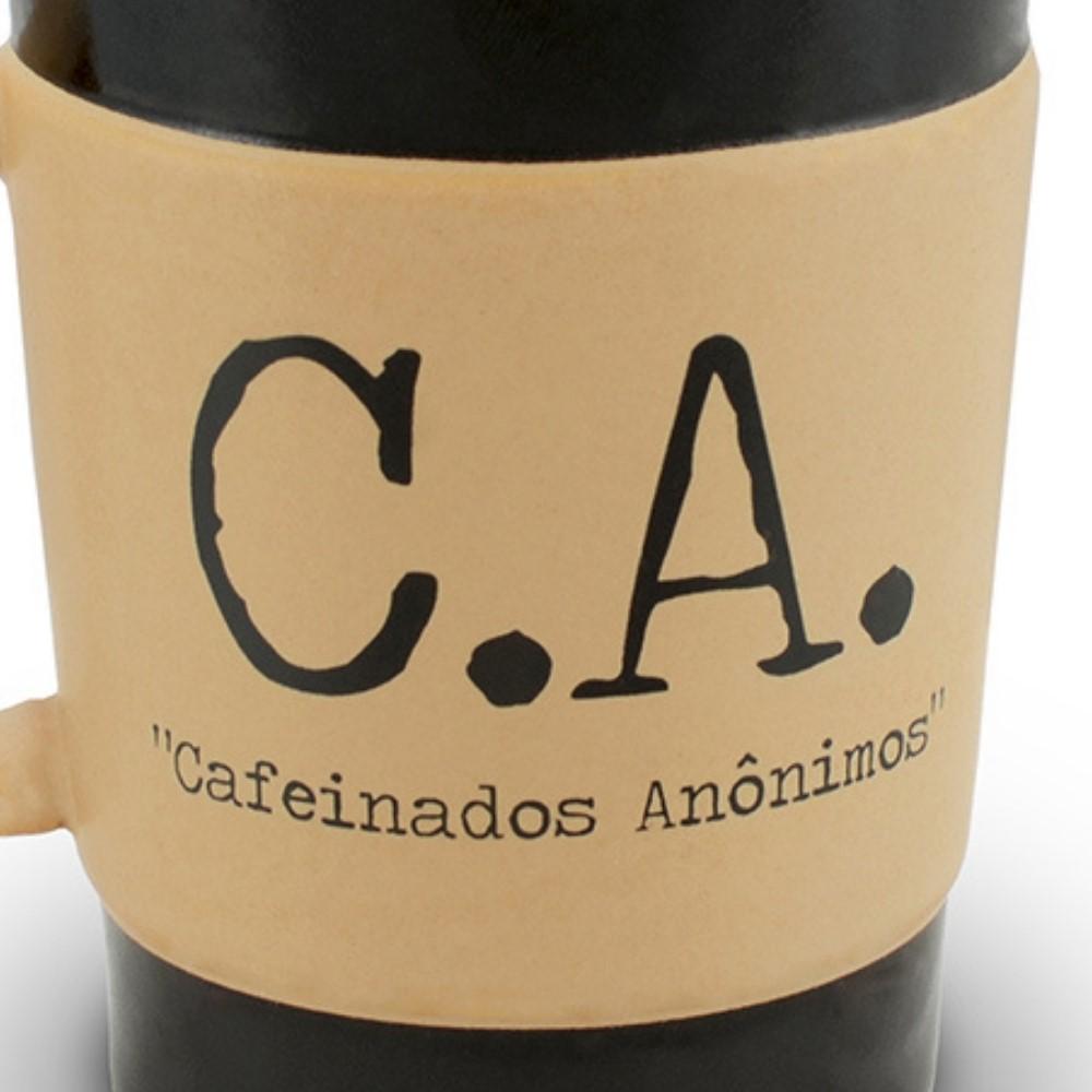 Caneca De Cerâmica Ceraflame Coffee To Go C.A 150Ml - Pardo Fosco
