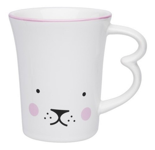 Caneca  Easy Bunny Puppies 330ml Oxford Daily
