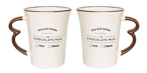 Caneca Easy Hot Drinks Chocolate Mug 330Ml - Oxford Daily