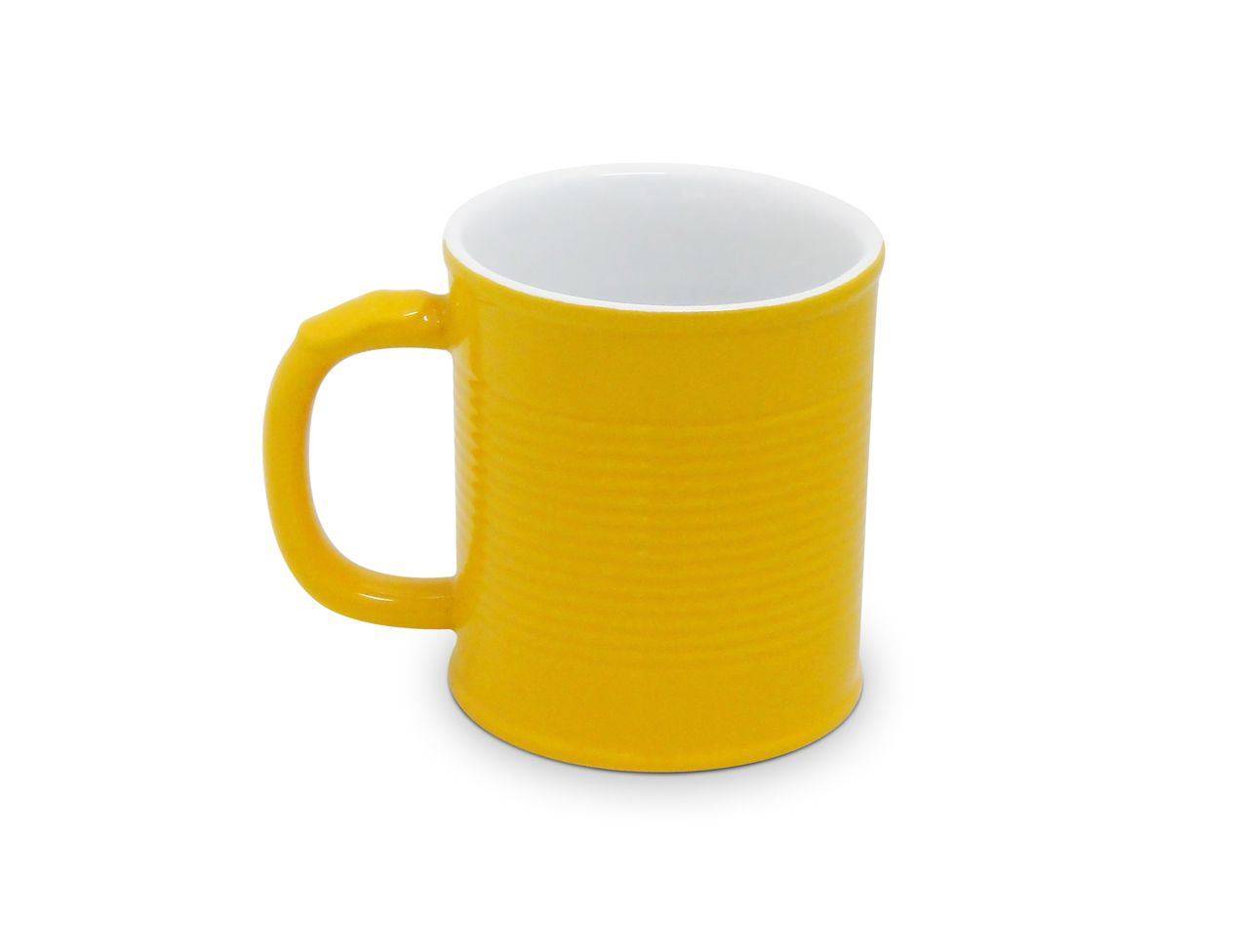 Caneca Lata 250Ml - Amarelo