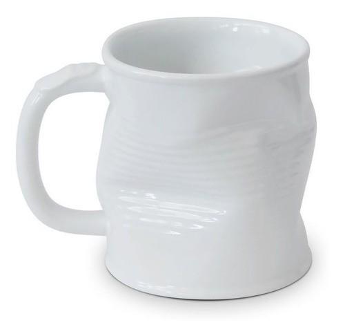 Caneca Lata Amassada 220Ml Ceraflame - Branco