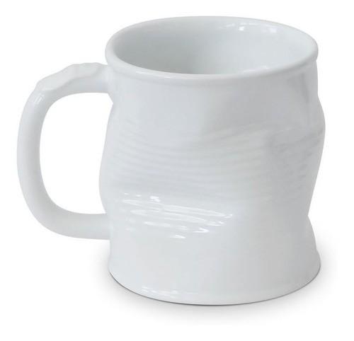 Caneca Lata Amassada 320Ml Ceraflame - Branco