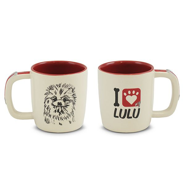 Caneca Ceraflame Pet Lulu 350Ml