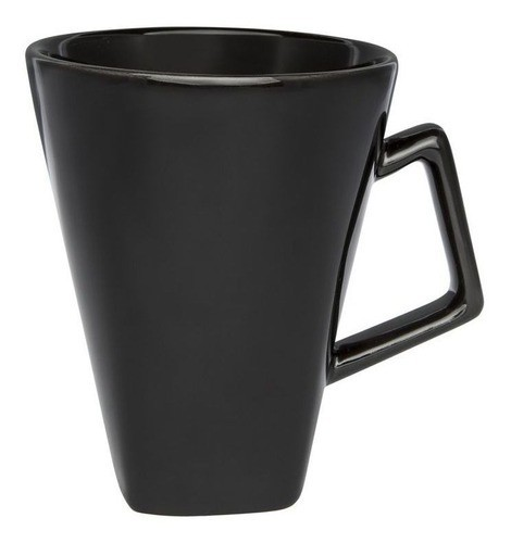 Caneca Quartier 350Ml - Preto - Oxford Porcelanas