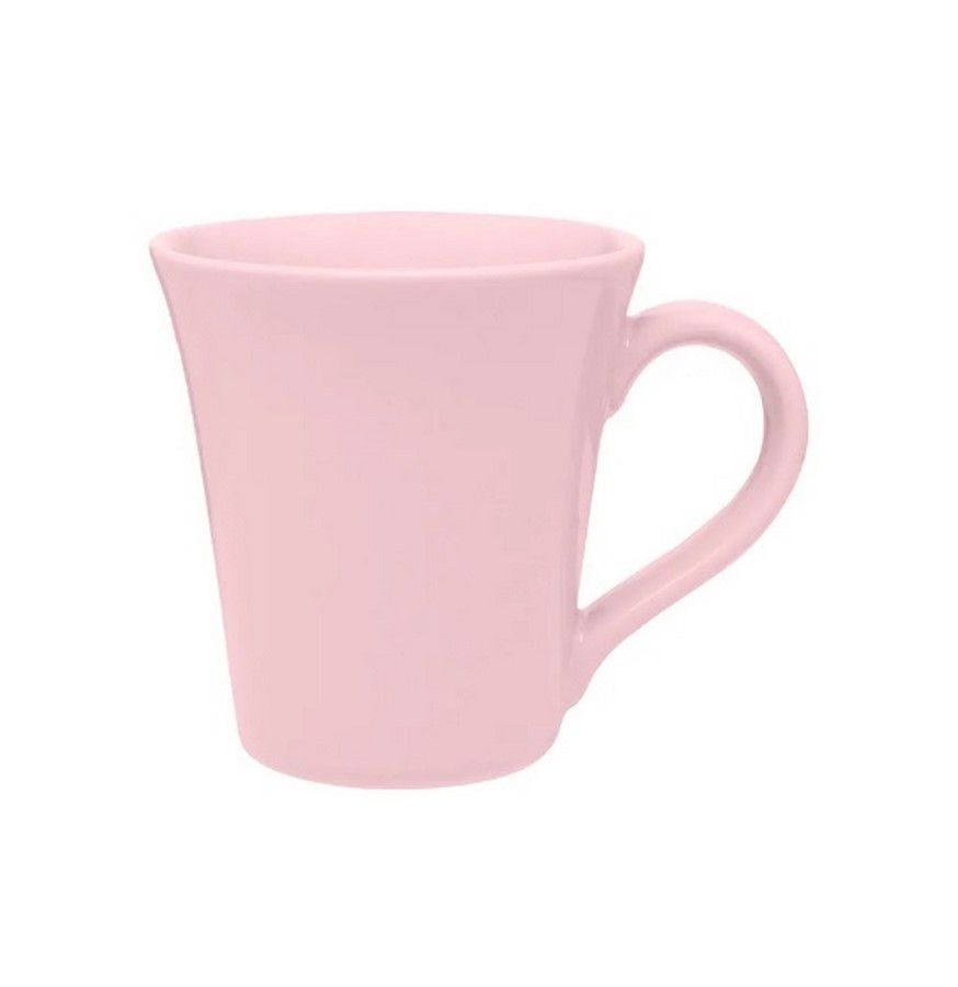 Caneca Tulipa 330Ml - Rosa - Oxford Porcelanas