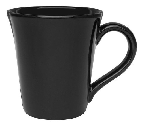 Caneca Tulipa 330Ml - Preto - Oxford Daily