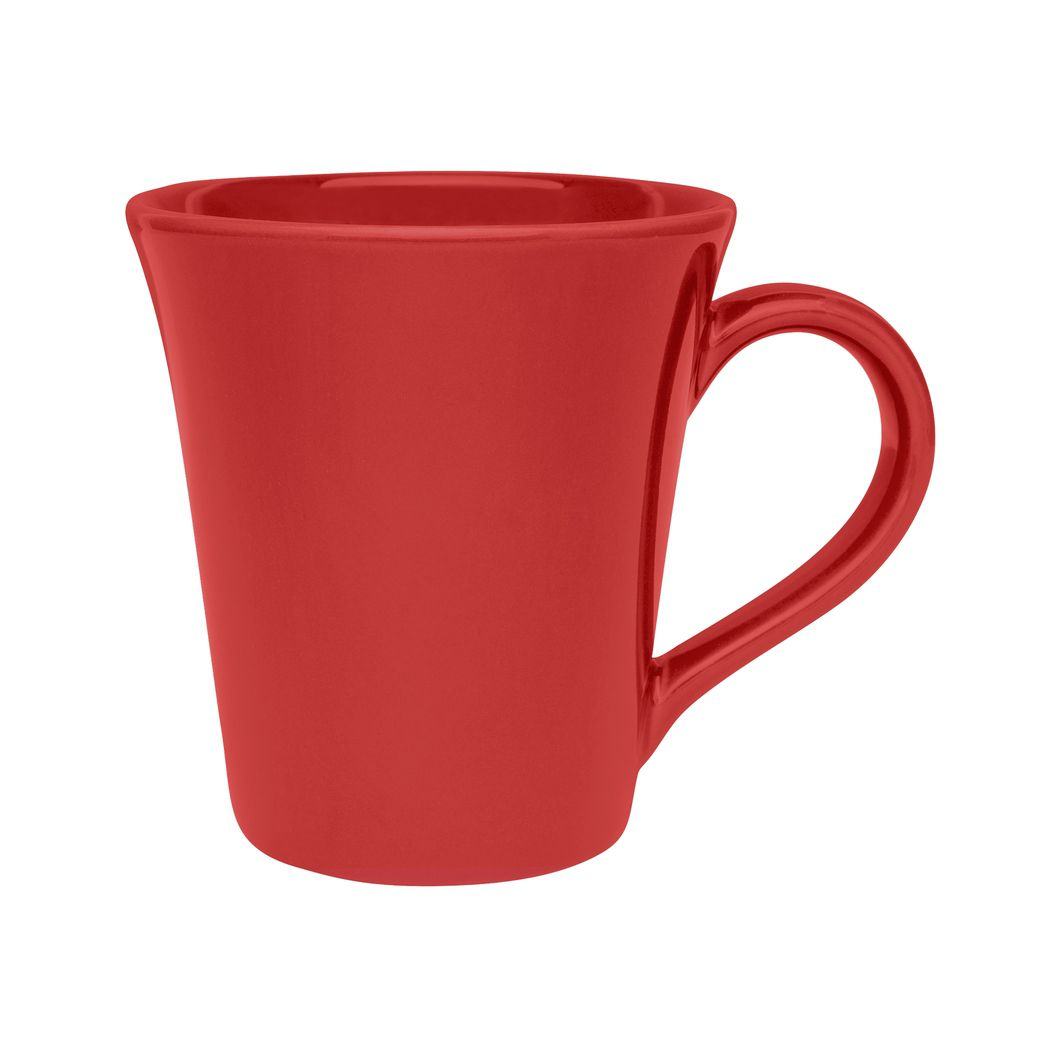 Caneca Tulipa 330Ml - Vermelho - Oxford Porcelanas