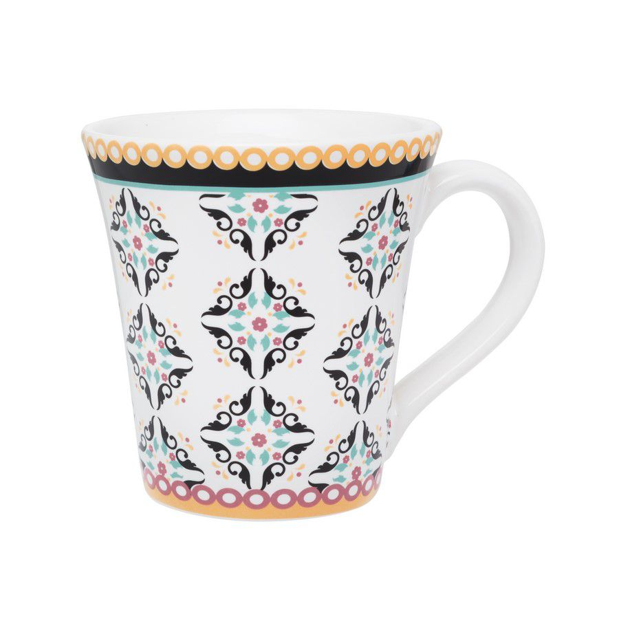 Caneca Tulipa Floreal Luiza 330Ml - Oxford Daily
