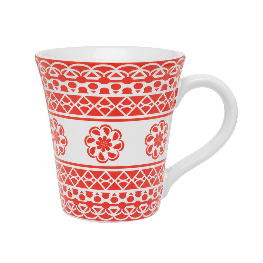 Caneca Tulipa Floreal Renda 330Ml - Oxford Daily
