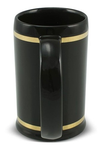Caneco De Cerâmica Ouro Maçonaria