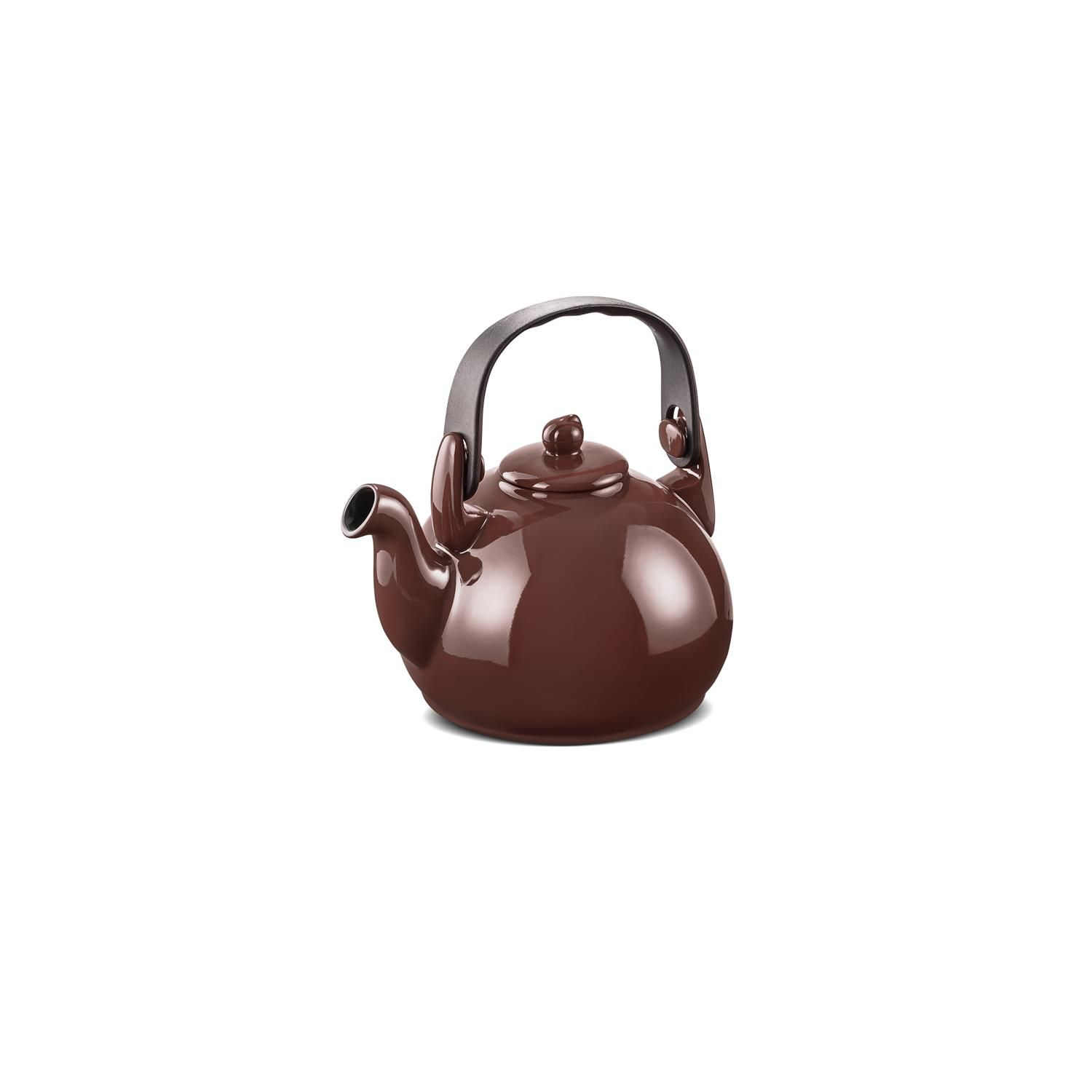 Chaleira De Cerâmica Ceraflame Colonial 1700Ml Chocolate