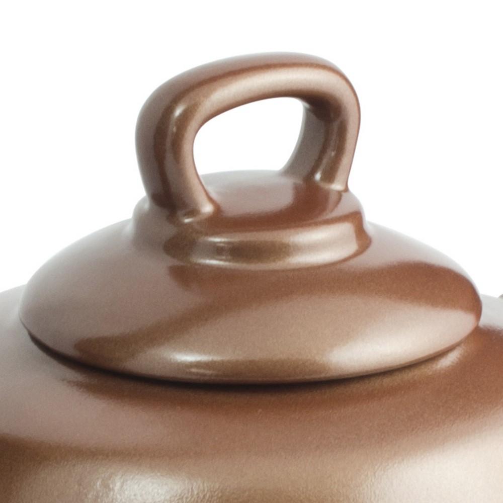 Chaleira De Cerâmica Ceraflame Tropeiro 2300Ml Cobre