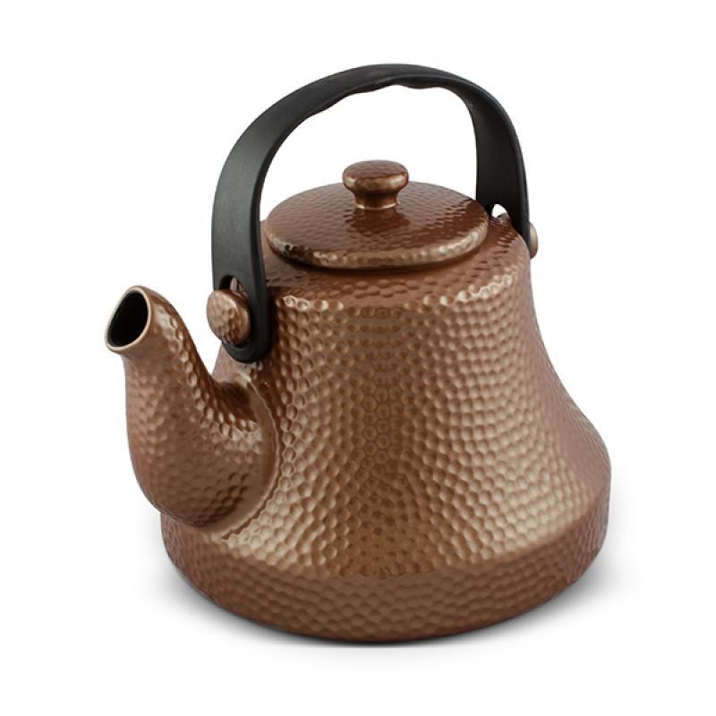 Chaleira De Cerâmica Ceraflame Martelada 1700Ml Cobre