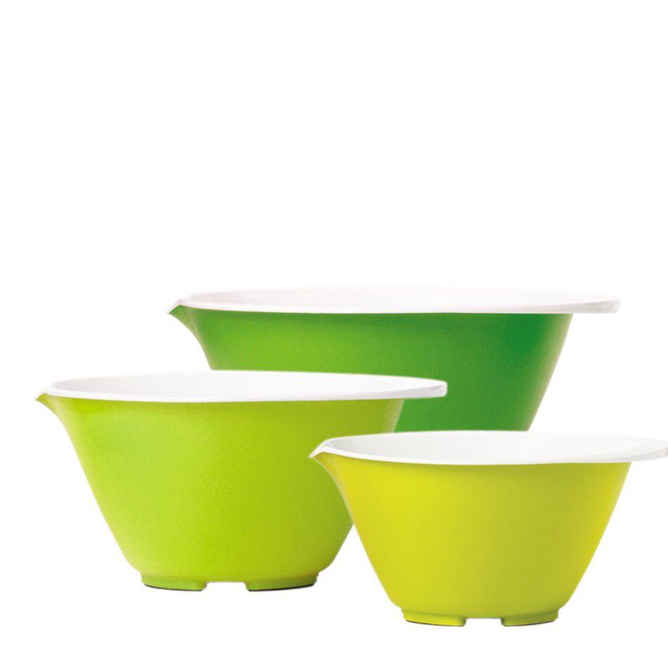 Conjunto 3 Tigelas Com Bico Despejador - Nesting Bowl Set Chef´N
