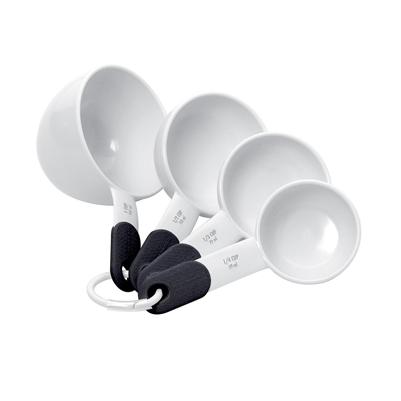 Conjunto 4 Xícaras Medidoras KitchenAid Branco
